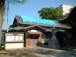 菊田神社の社務所