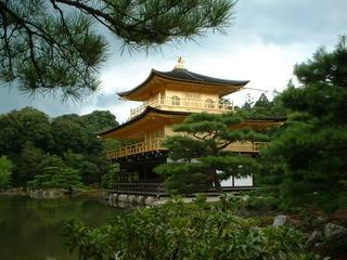 2011年8月の金閣寺